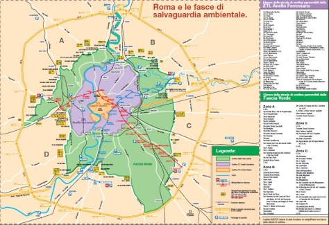 Fascia verde di Roma