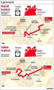 """Da """"Il Messaggero"""" del 16/10/2013"""