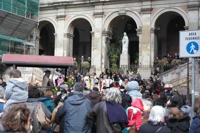 21 gennaio 2018 tradizionale benedizione degli animali domestici a Sant'Eusebio
