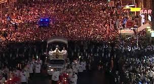 4 giugno 2015 Processione del Corpus Domini da S. Giovanni a S. Maria Maggiore