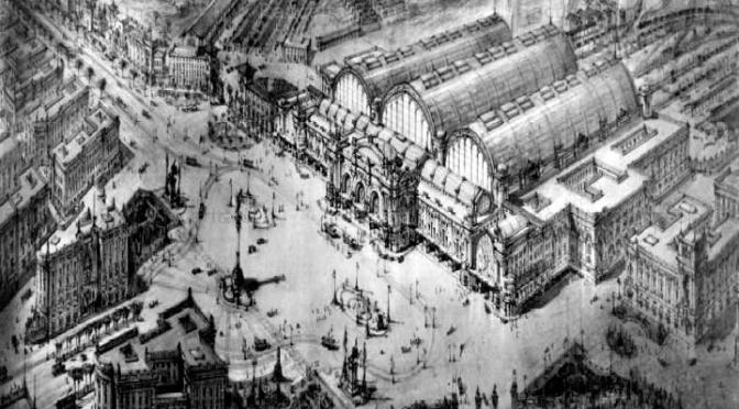 A proposito di progetti mai realizzati : la nuova Stazione Centrale di Coppedè Ugolotti del 1923