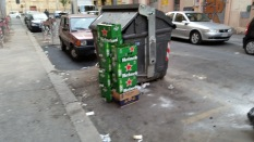 Via Bixio mattina