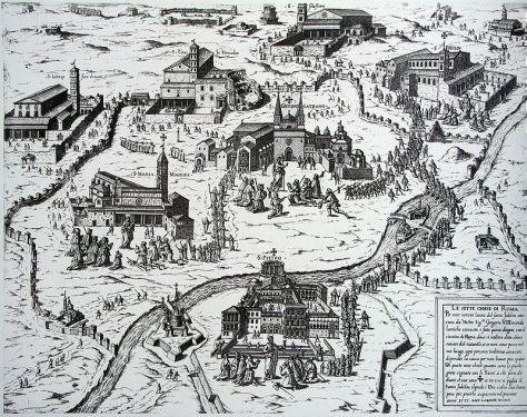 """""""Speculum romanae magnificentiae"""" Antoine Lafrèry 1575"""