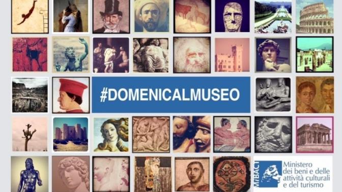 5 novembre 2017  Domenica gratuita nei Musei e Aree Archeologiche Statali
