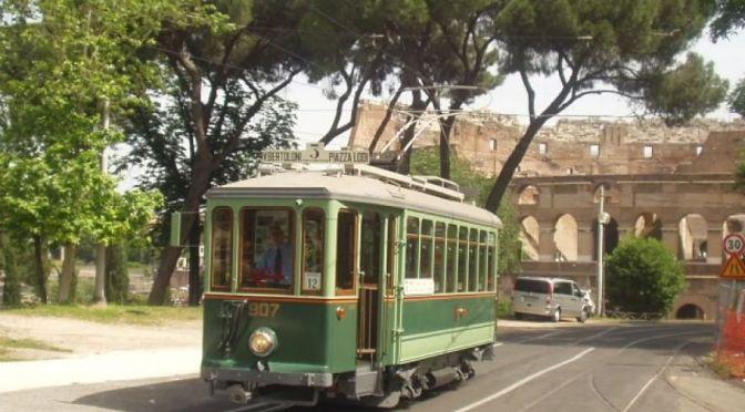 24 aprile 2016 Ritorna lo storico tram 907 a Porta Maggiore