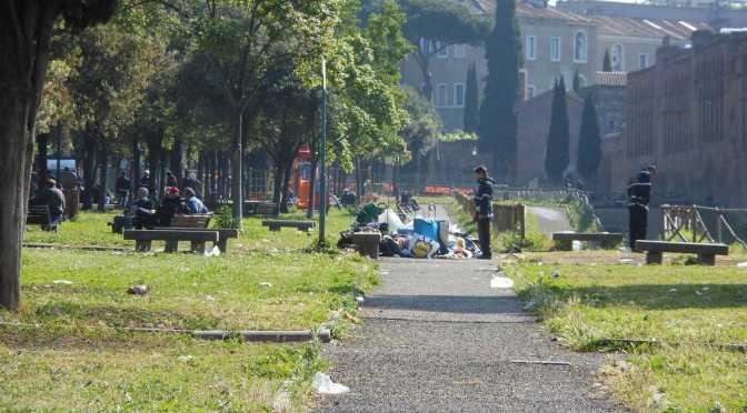 Vigili, bonificato il parco di via Carlo Felice