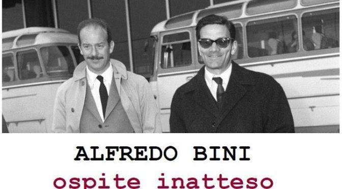 """12 maggio 2016 """"Alfredo Bini, ospite inatteso"""" all'Apollo 11. Il programma fino al 18 maggio"""