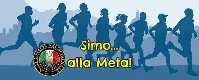 """7 maggio 2017 """"Simo alla meta"""" corsa podistica non competitiva con partenza a Piazza Vittorio"""