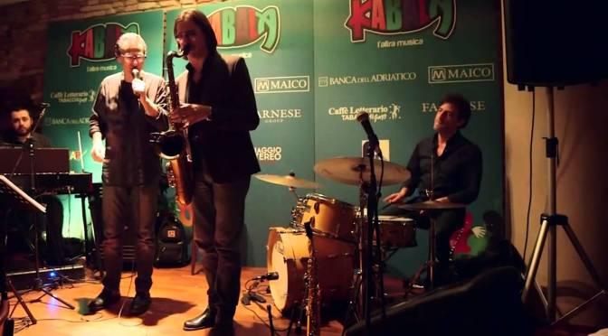31/05/2016 Jazz in Metro: Max Ionata Hammond Trio con Gegè Telesforo a stazione Repubblica