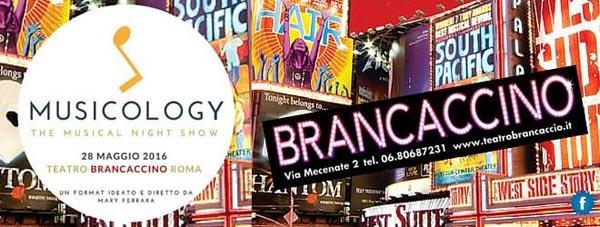 """28 maggio 2016 """"Musicology"""" al Teatro Brancaccino"""