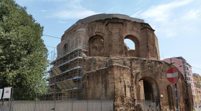 Agosto 2016 : il punto sui restauri del cd. tempio di Minerva Medica
