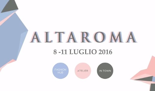 """9, 10 e 11 luglio 2016 """"AltaRoma"""" a via Bixio 84"""