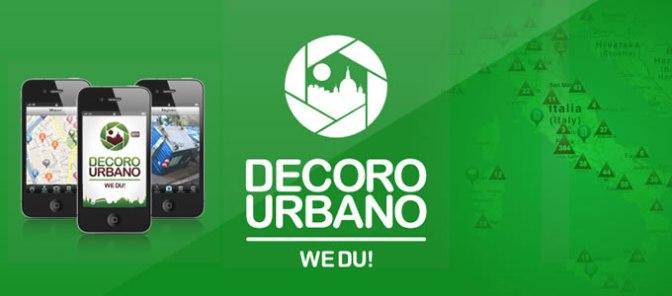 Un'App per il decoro urbano