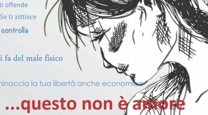 """20 agosto 2016 """"…Questo non è amore"""" 1° tappa romana del progetto contro la violenza sulle donne a Piazza Vittorio"""