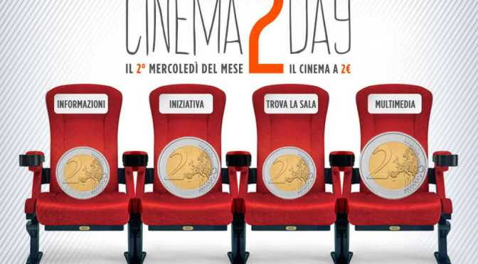 11/01/2017 Cinema2day. Oggi al cinema con 2 euro