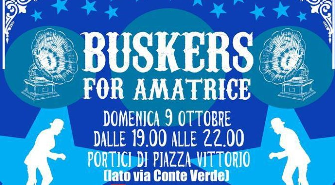 Buskers for Amatrice