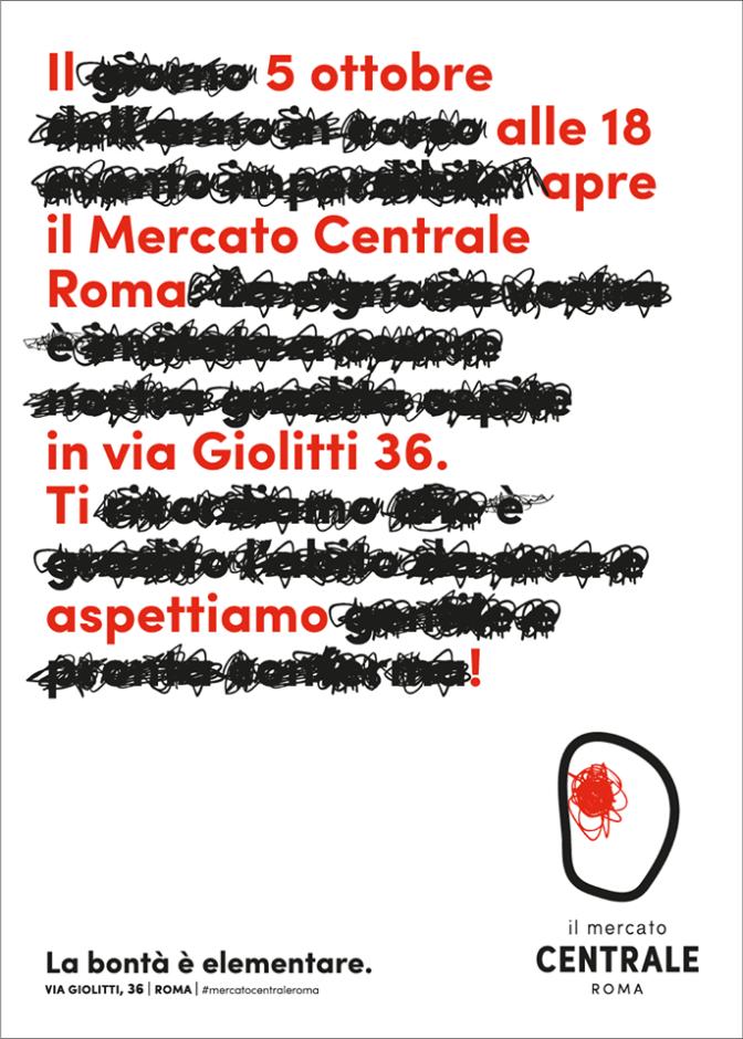 Oggi apre Mercato Centrale Roma