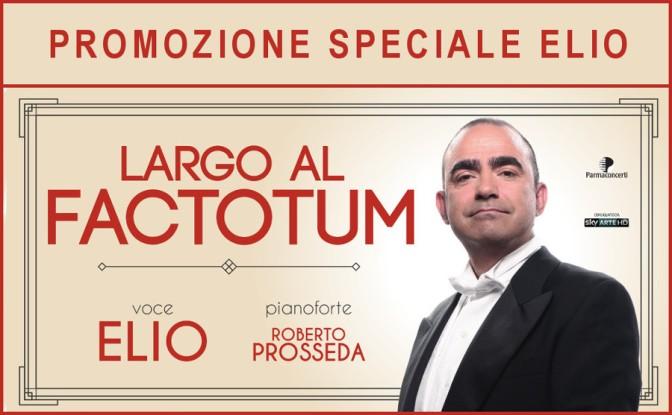 """19-30 ottobre """"Largo al Factotum"""" al Teatro Jovinelli"""