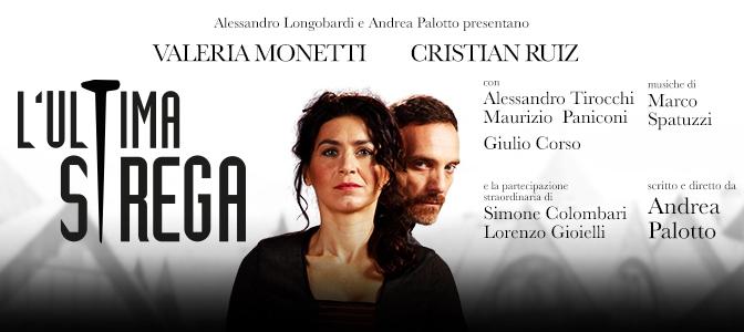 """Dal 27/10 al 6/11 2016 """"L'Ultima Strega"""" al Teatro Brancaccio"""