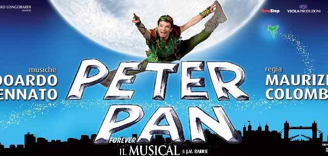 """Dall'11/11 all'11/12 2016 """"Peter Pan"""" al Teatro Brancaccio"""