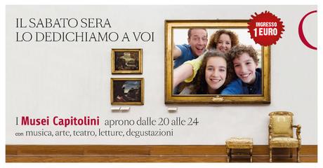 Musei Capitolini: il sabato sera aperture a 1 euro con eventi