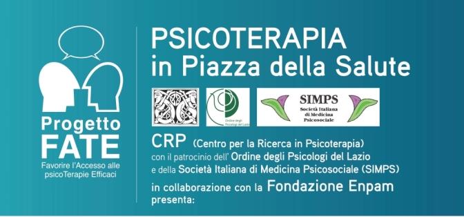 """16 novembre 2016 """"Psicoterapia in Piazza della Salute"""" presso la sede Enpam"""