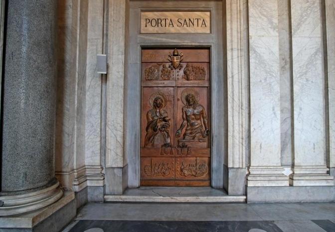 13 novembre 2016 Chiusura delle Porte Sante nelle Basiliche Romane