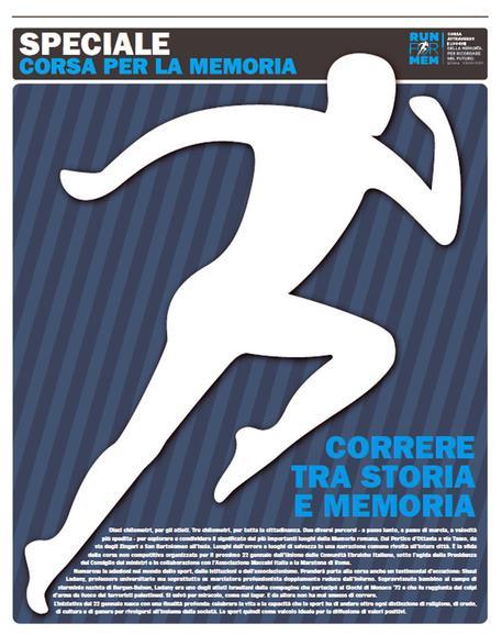 Run for Mem, lo sport ricorda la Shoah - Giorno della Memoria: Run for Mem, lo sport ricorda la Shoah