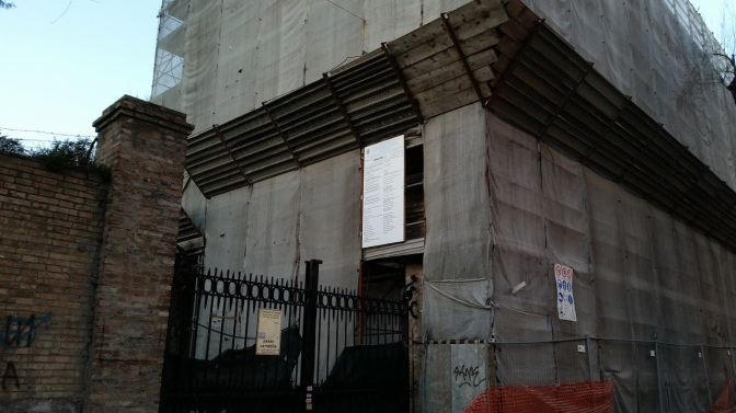"""L'Esquilino dei misteri – prima parte, un cantiere con sospensione e fine dei lavori """"ad libitum"""""""
