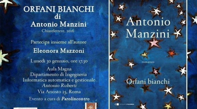 """26/01/17: Lettura condivisa di """"Orfani Bianchi"""" presso la biblioteca Nelson Mandela in preparazione dell'incontro con l'autore"""