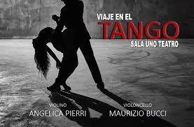 """10 gennaio 2017 """"Viaje en el Tango"""" presso Sala Uno Teatro"""