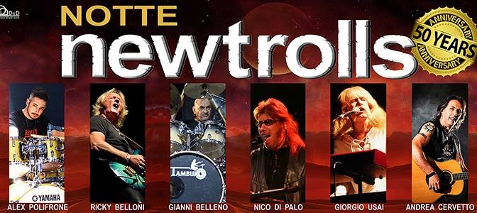 "13 febbraio 2017 "" Notte New Trolls"" al Teatro Brancaccio"