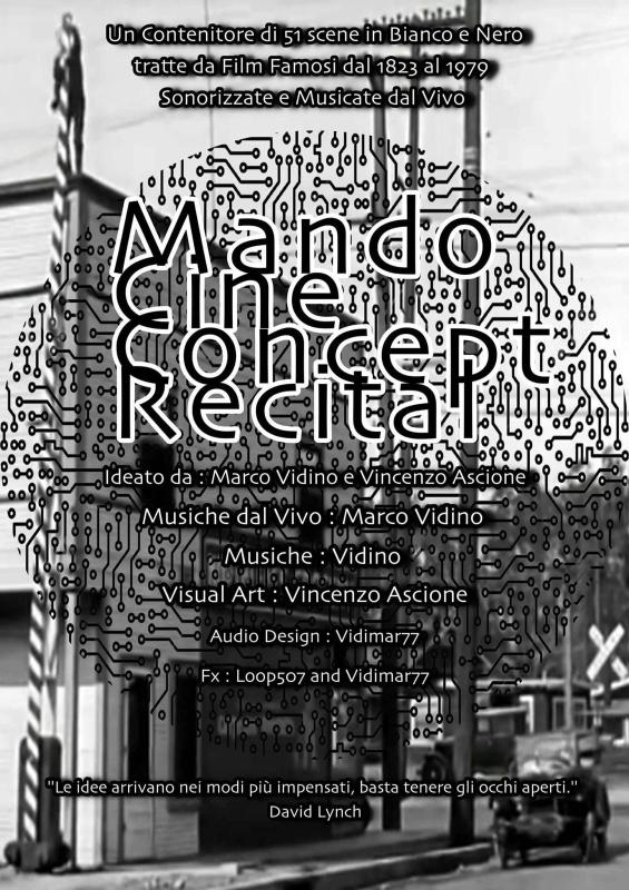 "22 febbraio 2017 ""Mando Cine Concept Recital"" all'Apollo 11"