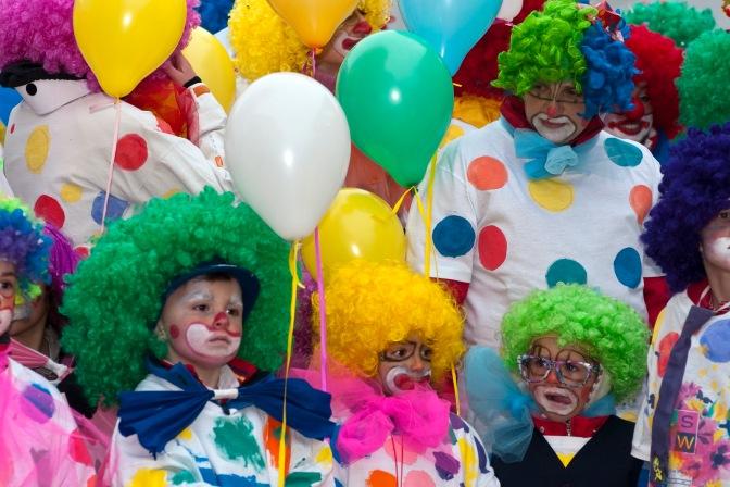 25 febbraio 2017 dalle ore 11,00 alle ore 14,00 Festa di Carnevale a Largo Leopardi