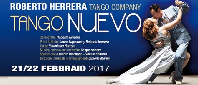 """21 – 22 febbraio 2017 """"Tango Nuevo"""" al Teatro Brancaccio"""