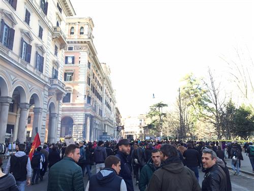 18 marzo 2017 dalle 14 alle 19 corteo da piazza Vittorio a piazza Madonna di Loreto
