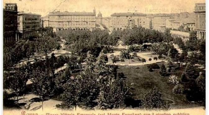 Piazza Vittorio, una storia piena di problemi e ripensamenti.