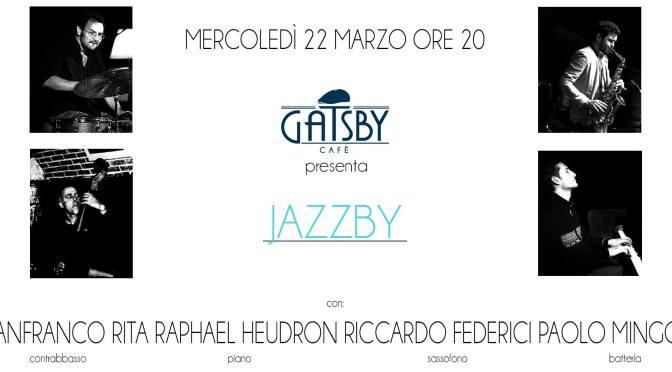 22 marzo 2017 evento Jazz al Gatsby Cafe