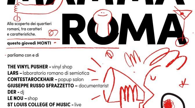 """30 marzo 2017 """"Mamma Roma – Monti"""" al Mercato Centrale Roma"""