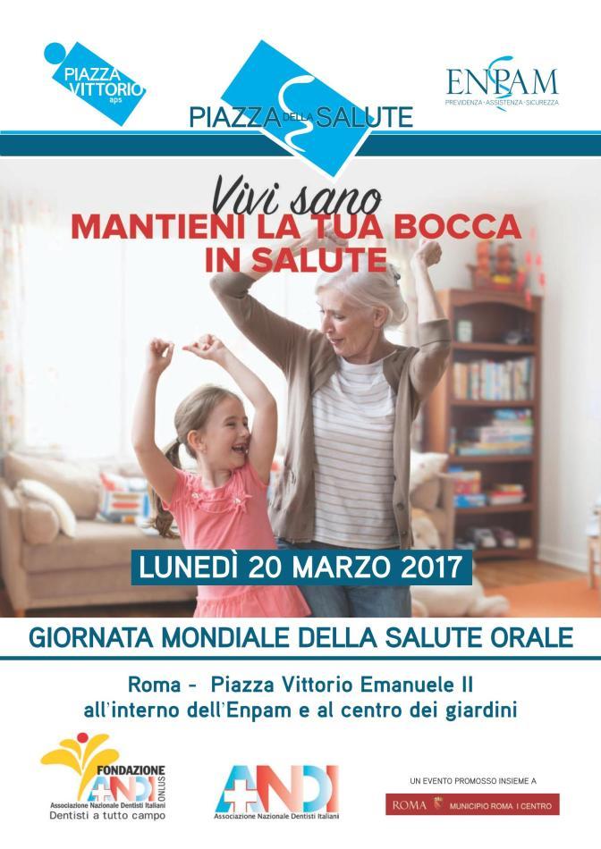 20 marzo 2017 Giornata Mondiale della Salute Orale