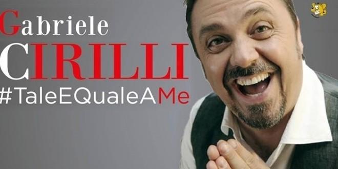 20 aprile 2017 #TaleEQualeAMe al Teatro Brancaccio