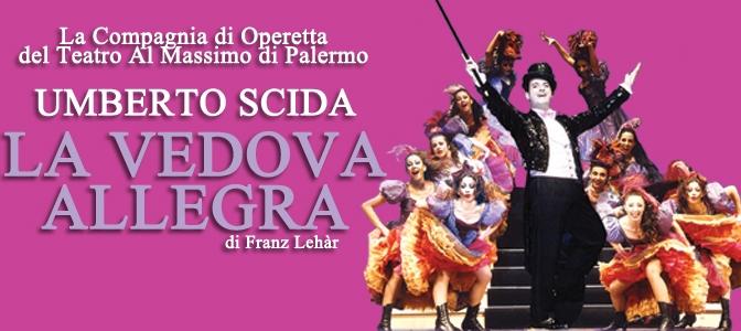 """6 – 9 aprile 2017 """"La Vedova Allegra"""" al Teatro Brancaccio"""