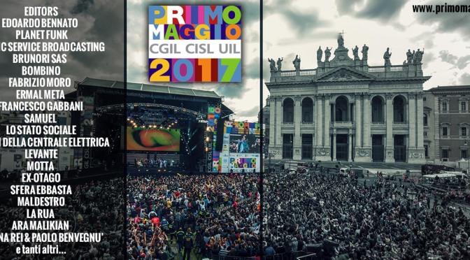 1 maggio 2017 il Concerto di San Giovanni