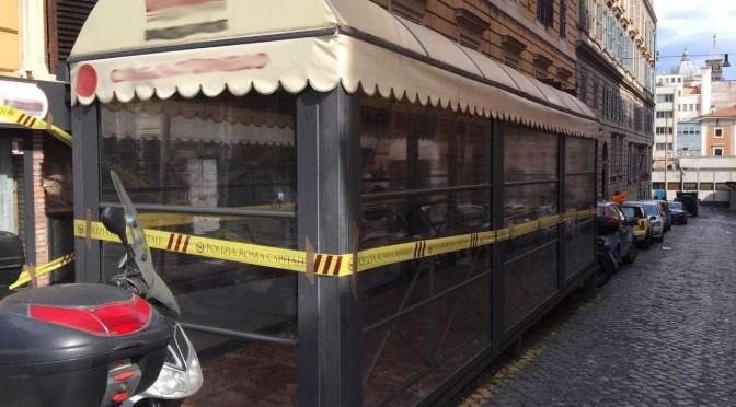 Polizia Locale, sigilli a ristorante in zona Esquilino