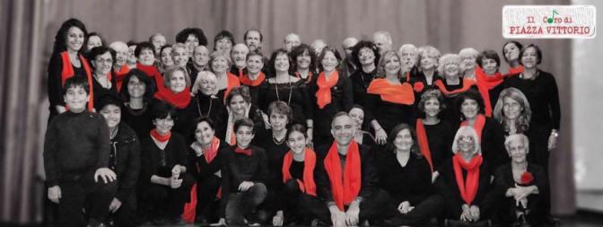 30 maggio 2017 Esibizione del Coro di Piazza Vittorio presso l'Istituto Galilei