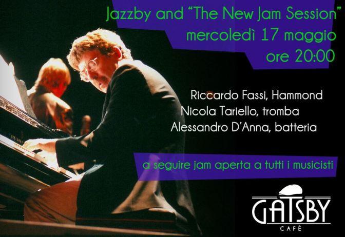 17 maggio 2017 Jazzby & Session: live con Riccardo Fassi al Gatsby Cafè