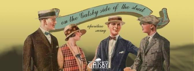 9 luglio 2017 Swinging down the portico al Gatsby Cafe'