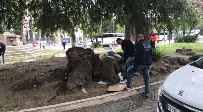 Termini, terzo giorno attività di ripristino del decoro da parte della Polizia Locale
