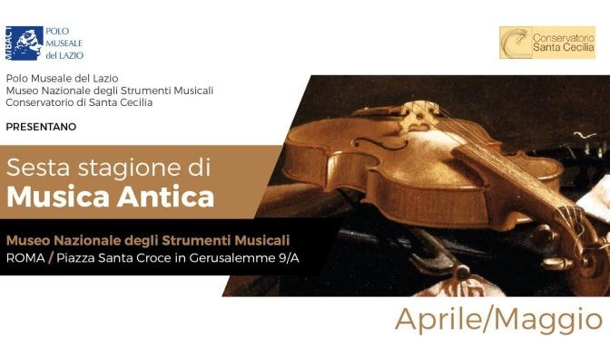 """27 maggio 2017: Concerto """"Gli Essercizii musici di G. Ph. Telemann"""" presso il Museo Nazionale degli Strumenti Musicali"""