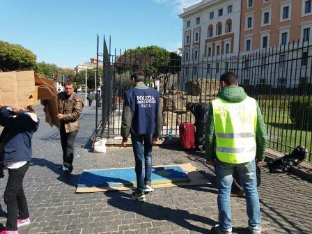 Polizia Locale, ripristino del decoro alla stazione Termini